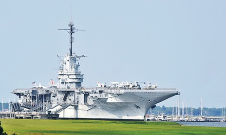 $20 for a Patriots Point Naval & Maritime Museum Visit for Two (Up to $40 Value)