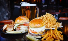 Burger Meal with Beer for Two or Four at OBriens Irish Pub (51% Off)