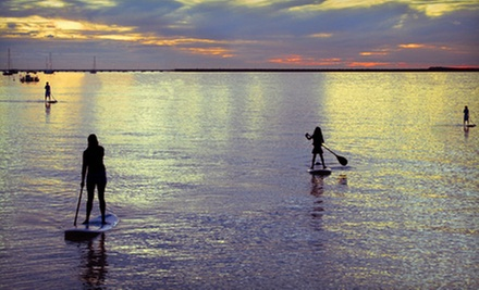 Rental of Paddle or Mirage Kayak for Two or Four or Standup Paddleboard for Two at Three Belles Marina (Up to 51% Off)