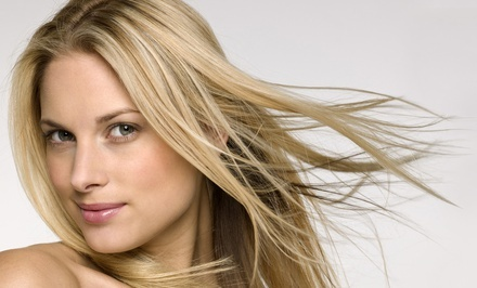 Portland: Salon Packages at Heather Hamilton Hair at The Grapevine Salon (Up to 61% Off). Four Options Available.