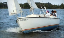 Introductory Sailing Lesson for Two or Four at Lake Fairview Marina (Up to 58% Off)