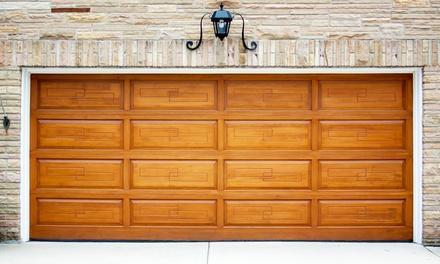 Garage Door Tune-Up with Optional Quiet-Roller Replacement from Door Link Network (Up to 81% Off)
