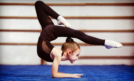 One or Three Children&#x27;s Acrobat- or Circus-Themed Fitness Classes at Cirquefit (Up to 53% Off)
