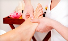 One or Three 60-Minute Hand and Foot Reflexology Sessions at Cloud Massage (Up to 56% Off)
