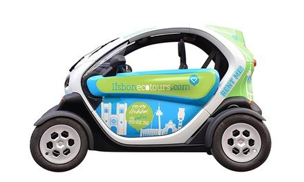 Lisbon Eco Tours — Lisboa: passeio Free Ride ou Bohemia Tour em carro elétrico para 2 ou 4 pessoas desde 14€
