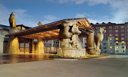 1-Night Stay for Up to Six or Seven with Water Park Passes and $25 Resort Credit at Great Wolf Lodge Grapevine in Texas