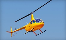 Bay and Downtown or Sunset Helicopter Tour for Up to Three from Old City Helicopters, LLC (Up to 46% Off)