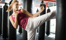Three or Five Fitness-Kickboxing Classes with Hand Wraps at Lee Brothers Tae Kwon Do (Up to 57% Off)