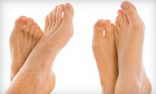 Laser Nail-Fungus Removal for One or Both Feet at Laser Hair Removal Center (Up to 75% Off)