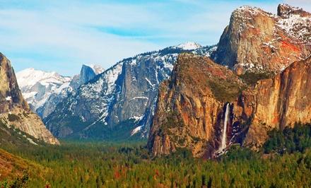 groupon daily deal - 2-Night Cabin Stay at Yosemite Pines near Yosemite National Park