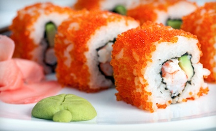 Sushi and Asian Cuisine for Two or Four at Rolling Moon Sushi (Up to 52% Off)