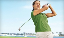 One Private Lesson, Three Junior Lessons, or Three Ladies' Lessons at The Falls Golf Club (Up to 67% Off)