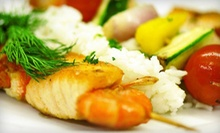 Russian Cuisine for Two or Four at Firebird Russian Restaurant (Half Off)