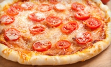 $15 for Two One-Topping Pizzas with Garlic Knots at Pizza Station ($33.15 Value)