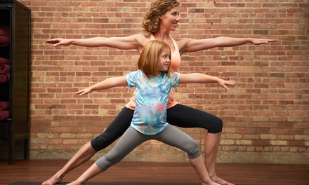 Four or Eight Kids' Yoga Classes at Elevation Yoga and Wellness (67% Off)