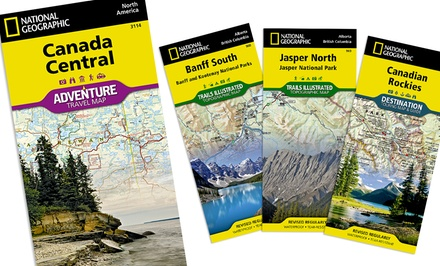 National Geographic Canadian Maps Bundles