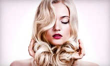 $55 for One Haircut, Blow-Dry, and Glaze at Substance Salon (Up to $130 Value)