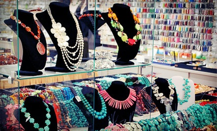 $10 for $20 Worth of Beads, Tools, and Stringing Material at Ny6design Beads and Jewelry Supply