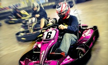 Indoor Go-Kart Races, Laser Tag, Mini Golf, and Sodas for Two or Four at Track 21 (Up to 54% Off)