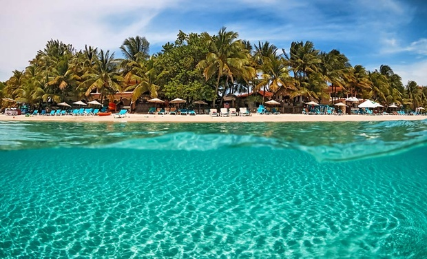 TripAlertz wants you to check out 5- or 7-Night All-Inclusive Stay for Two at Las Sirenas by Mayan Princess in Honduras. Includes Taxes and Hotel Fees. All-Inclusive Beach Resort in Honduras - All-Inclusive Honduras Resort