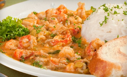 Cajun and Creole Seafood at Fish Place (Half Off). Three Options Available.