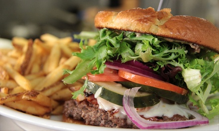 Beer and Pub Food at Bushnell Craft Brewing Company (50% Off). Two Options Available.