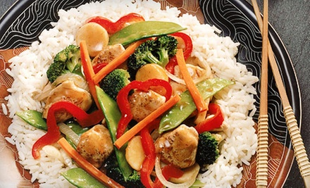$15 for $30 Worth of Chinese and Japanese Food at Fusion Taste