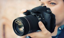 2.5-Hour Beginner DSLR Camera Class for One or Two from HowDoIUseMyDSLRCamera.com (Up to 63% Off)