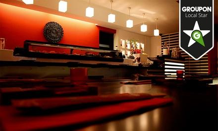 Estado Líquido Sushi Lounge — Santos: menu de Sushi Moriawase Premium com bebidas para duas pessoas desde 24,90€