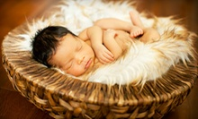 $69 for a Newborn and Family Photo Session with $100 Print Credit at Photography by Angelique (Up to $250 Value)