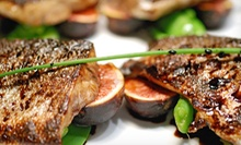 Mediterranean Meal for Two or Four with Appetizers, Entrees, Desserts, and Wine at Fig & Olive (Up to 53% Off)