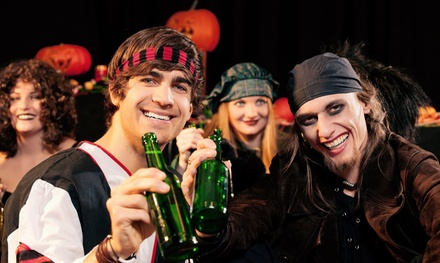 General or VIP Bowloween Admission for Two at Lucky Strike Lanes (Up to 50% Off)