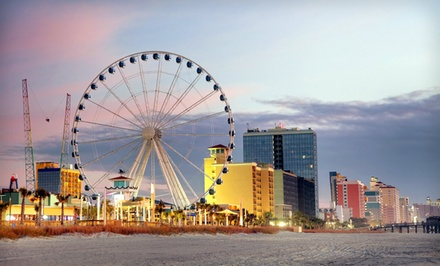 Groupon Deal: Stay at Aqua Beach Inn in Myrtle Beach, SC, with Dates into October