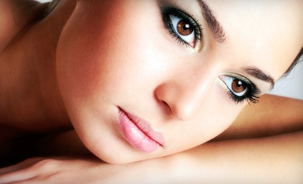 Eyebrow and Upper-Lip or Eyebrow and Full-Face Threading at Marhaba Threading Salon & Spa (Half Off)