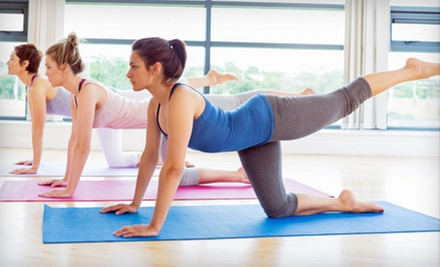 5 or 10 Pilates Fusion Mat Classes at Pilates 4 Women Only (Up to 69% Off)
