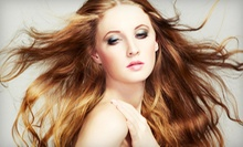 Haircut and Conditioning with Options for Partial or Full Highlights at Salon X (Up to 70% Off)