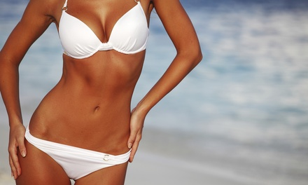 Month of Unlimited VIP UV Tanning, or One or Three Airbrush Tans at Rejuva GlowSpa (Up to 72%Off)