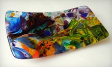 Fused Glass Dish Class for One, Two, or Four at Art in the Dairy (Up to 58% Off)