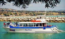 $47 for a Wine Tasting and Harbor Cruise for Two from OCean Adventures ($98 Value)