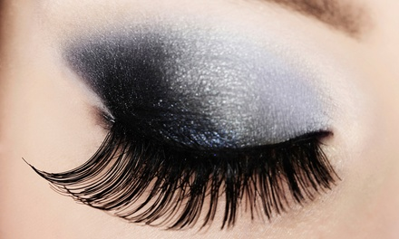 Full Set of Eyelash Extensions with Optional Refill by   MiMi (50% Off)