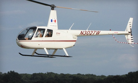 $175 for a Helicopter Tour of Saylorville Lake for Up to Three from Iowa Helicopter ($350 Value)