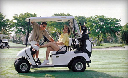18-Hole Round of Golf for Two or Four Including Cart Rental and Range Balls at Baraboo Country Club (Up to 51% Off)