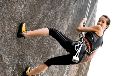 Intro Rock-Climbing Class with Beer-Tasting Tour for One or Two from Backcountry Adventure Guides (Up to 51% Off)