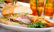 American Cuisine at R&amp;R Grill (Up to 53%). Three Options Available.
