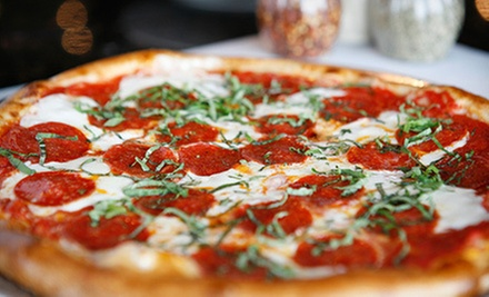 $10 for $20 Worth of Pizza and Sandwiches at Tony Sacco's Coal Oven Pizza. Two Locations Available.