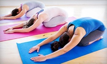10 or 15 Yoga Classes, or Six Months of Unlimited Classes at Yoga Palm Beach (Up to 72% Off)
