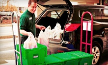 $25 for $50 Worth of Groceries Available for Pick-up from Peapod