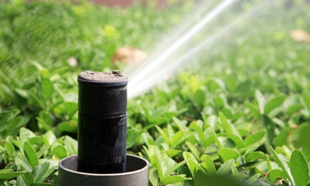 $34.95 for a Sprinkler Winterization Package from Advance Irrigation and Outdoor Solutions ($69.95 Value)
