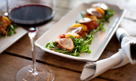 $25 for a Legacy Wine and Food Pairing for Two at Williamson Wines ($50 Off)