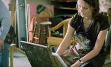 Social Painting Class for One, Two, or Four from Oklahoma Canvas (Up to 62% Off)